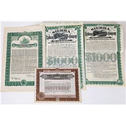 Sierra Railway Company Bonds & Stock  (113721)