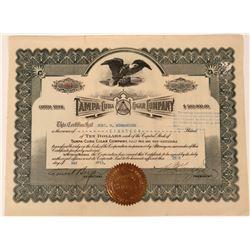 Tampa-Cuba Cigar Company Stock  (123311)