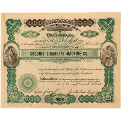 Coconis Cigarette Machine Co. Stock  (123341)