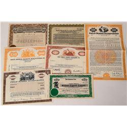 Cigarette Manufacturer Stock Certificates  (124575)