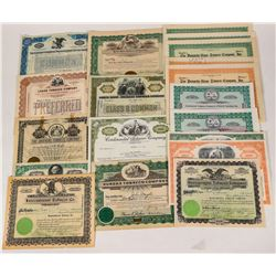 Tobacco Company Stock Certificates  (124573)