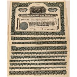 Cusi Mexicana Mining Stock Certificates (10)  (124817)