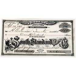 South Standard Mining Company Stock Certificate  (113642)