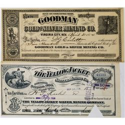Two Different Comstock Mining Stocks: Goodman and Yellow Jacket  (113655)
