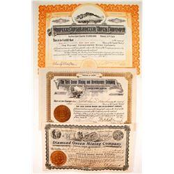 Bullfrog Mining Stocks (3)  (88409)