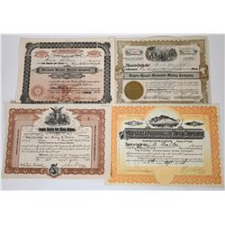 Nevada Mining Stocks Includes Two Rare Ones (4)  (118616)
