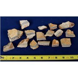 Bodie Gold Specimens from Goodshaw Vein  (121668)