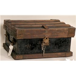 Ornate Gold Strongbox, 19th Century, Vanderman Mfg.  (125330)