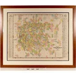 Map of Goldfield, Nevada - Pristine  (125062)