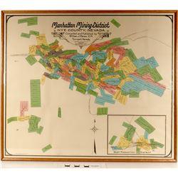 Manhattan Mining District Map - Pristine  (125061)