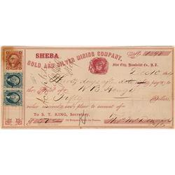 Sheba Mining Check  (122854)