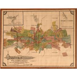 Tonopah Mining District Map - Pristine  (125060)