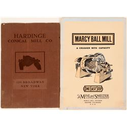 Milling Equipment Booklets from Marcy Mills and Hardinge   (108697)