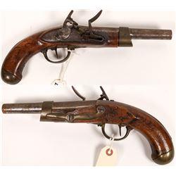 Charleville  Flintlock Pistol  (122907)