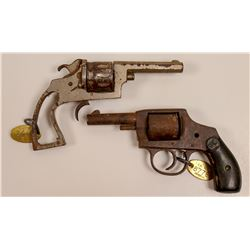 Two Dug-up Revolvers   (108428)