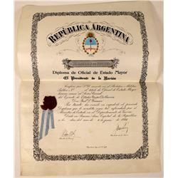 Award Warrant Presented to American Colonel  (119334)