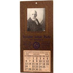 Calendar,  Socialist Labor Party of America.  (122202)