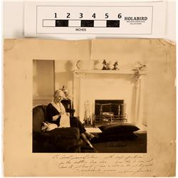 Photo of Lou Hoover (H. Herbert's Wife) Autographed  (124604)