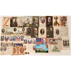 Unsuccessful Presidential Candidates Photo & Post Cards Collection  (122033)