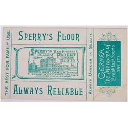 Sperry & Co. Advertising Card from the St. Louis World's Fair  (124242)