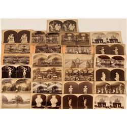 Centennial Exposition Stereo-view Collection (25)  (123218)