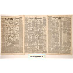 New York Tribune  Covering the Civil War 1862 (58 Issues)  (125077)