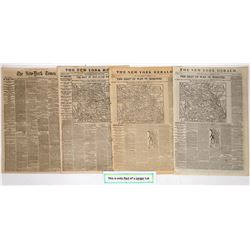 Civil War Campaign of 1861 in newsprint   (125081)