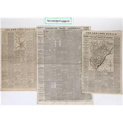 Civil War Campaign of 1865 in newsprint   (125080)