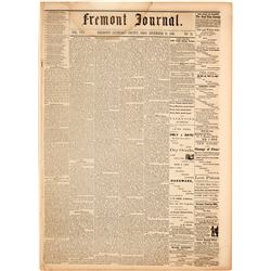Fremont Journal: Possible Succession from the Union, What is Lincoln going to do?  (122131)