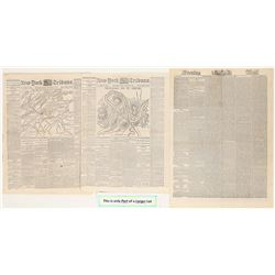 New York Newpapers Covering the Civil War   (108716)