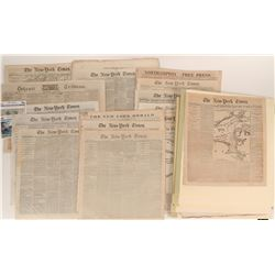 New York Newspapers Covering the Civil War   (125076)