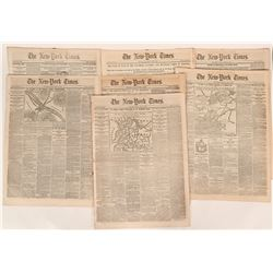 New York Times cover stories of the Civil War  (108714)