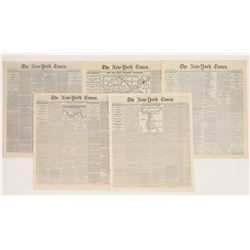 New York Times cover stories of the Civil War 1863  (108717)