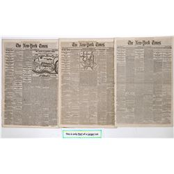 New York Times cover stories of the Civil War late 1862  (125085)