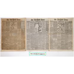 New York Times cover stories of the Civil War March 1862  (125083)