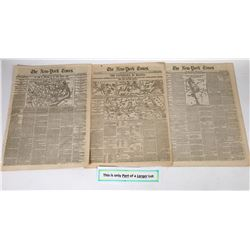 New York Times coverage of the Civil War January and February of 1862  (125084)