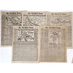 New York Times coverage of the Civil War June of 1862  (125078)