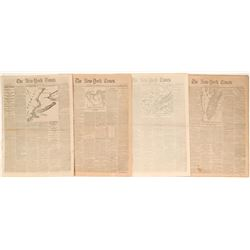 New York Times: The Great Rebellion, maps, troop movements   (122129)