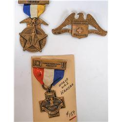 World War One Bronze Medals  (124076)
