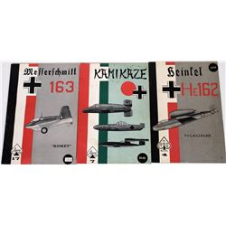 Booklets  on Axis Aircraft WWII  (122143)