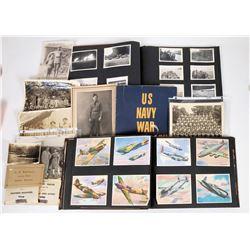 World War II Photo Albums  (125137)