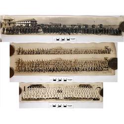 WWI & WWII  Graduation Panorama's (4)  (122139)