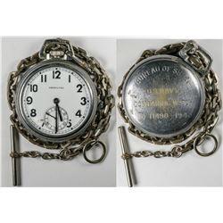 WWII  Bureau of Ships Pocket Watch  (122664)