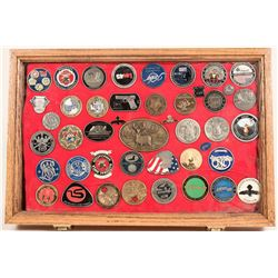 Challenge Coins and Display Case  (125193)