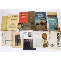 Military Memorabilia, large set  (125207)