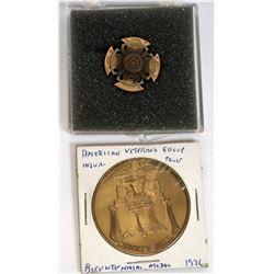 Veterans Medals (2)  (124070)