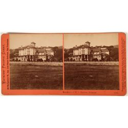 W. C. Ralston house in Belmont, California in Stereo-view  (123225)
