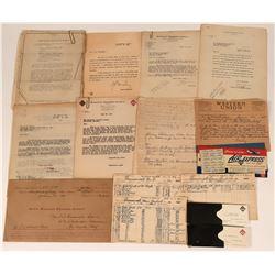 Wells Fargo: Personal Employee Papers of George Garfield Greenawalt  (123181)