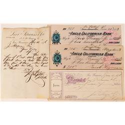 Levi Strauss Company  Receipt and Checks  (108699)