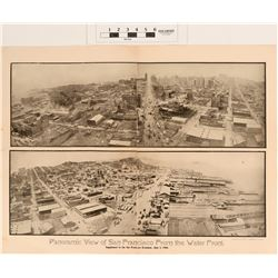 San Francisco's 1906 Earthquake & Fire Combo (2) Photo's & Book  (124811)